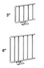 Lozier Shelf Fencing and Dividers